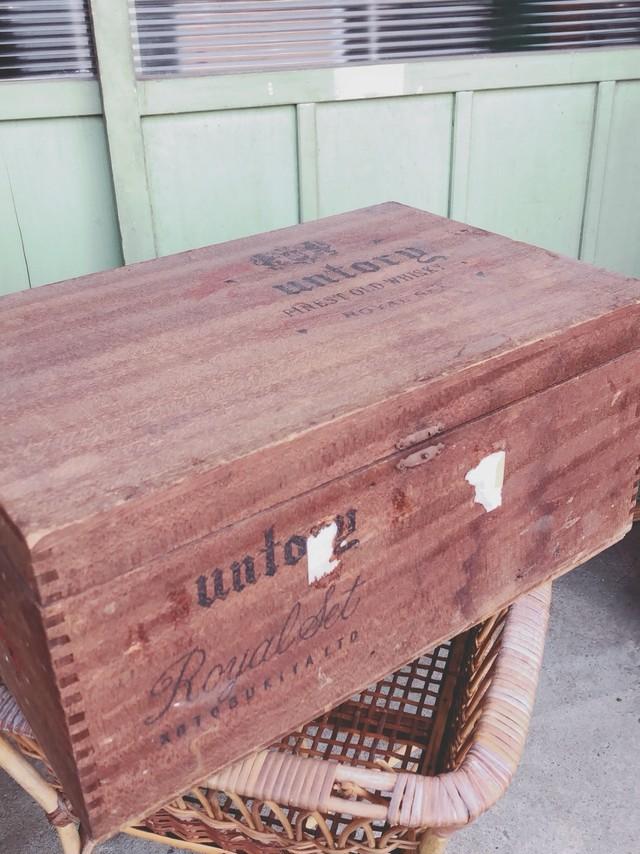サントリー木箱  3