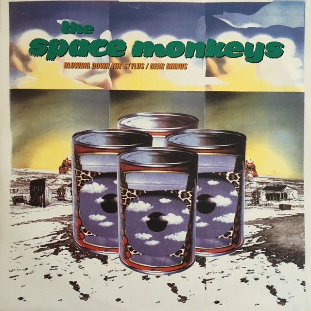 【12inch・欧州盤】The Space Monkeys  ‎/  Blowing Down The Stylus , Dear Dhinus