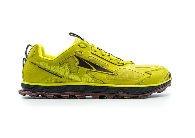 【ALTRA】 Lone Peak 4.5 Men Trailrunning Shoes(Lime Red)