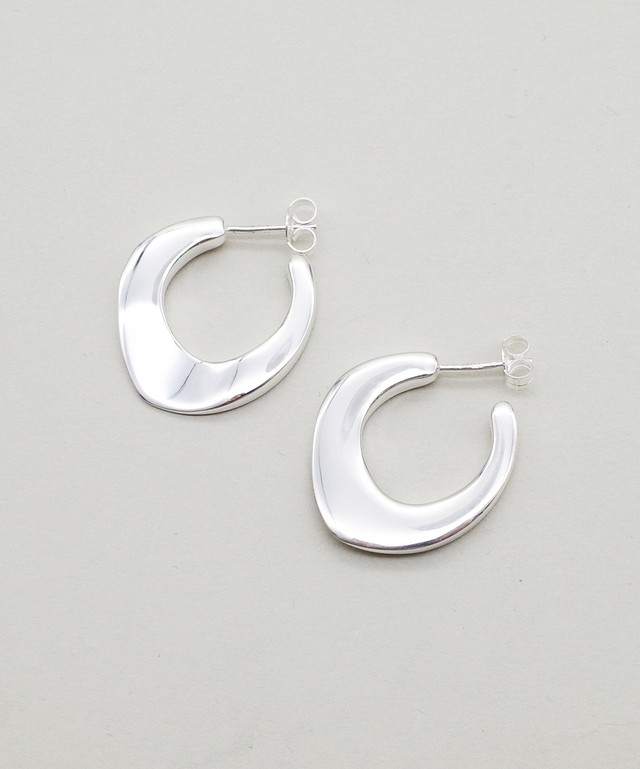 【blanc iris/ ブランイリス】Honfleur collection Sterling Silver Pierce / ピアス