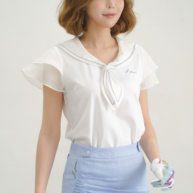 Sailor blouse(White)