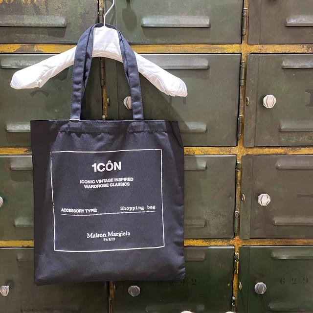 Maison Margiela【メゾン マルジェラ】ICON ショッピングバッグ(BLACK) .