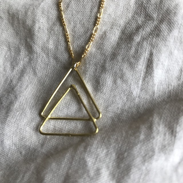 Creation Triangle Piace -Silver-