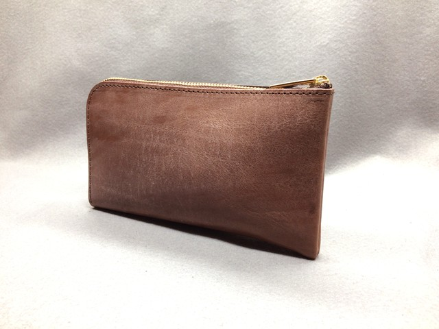 SHOZO wallet (bridle leather): Brown