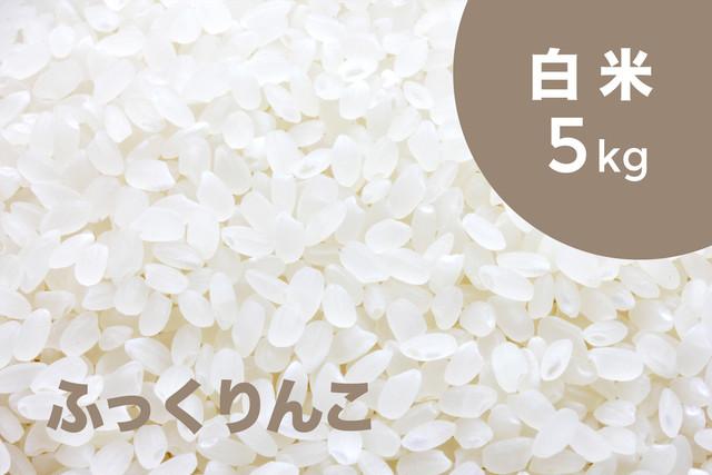【令和元年産 新米】特別栽培米 ふっくりんこ(白米)5kg