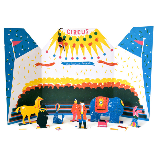 Little Paper Circus Toy