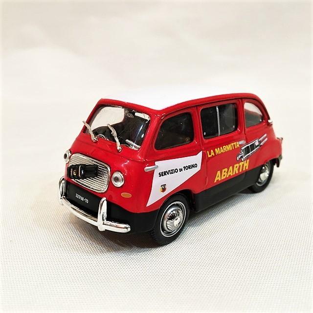 Fiat 750 multipla abarth 1960  1/43【Veicoli】【1セットのみ】【税込価格】
