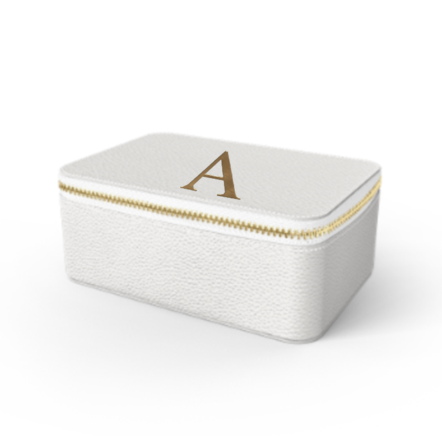 Box Premium Shrink Leather Case (Milk White)