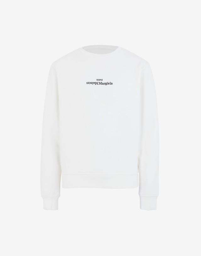 【Maison Margiela】エンブロイダードロゴスウェットシャツ S50GU0148