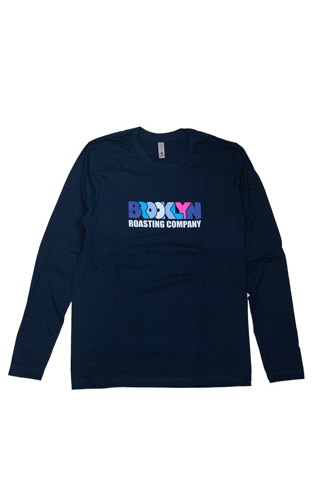 "Original T-shirt Long sleeve blue ""SNIFFING"""