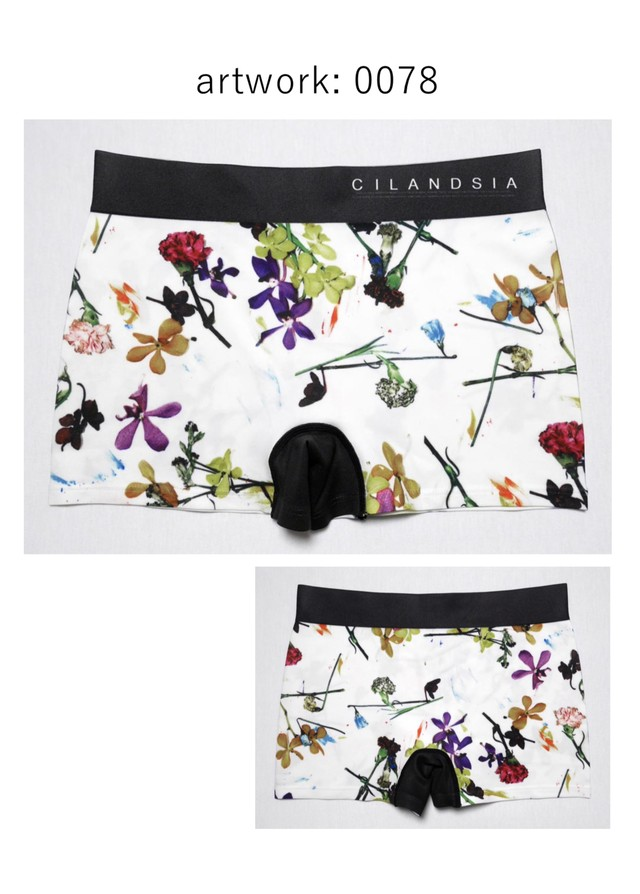 【即納】CILANDSIA art work under pants