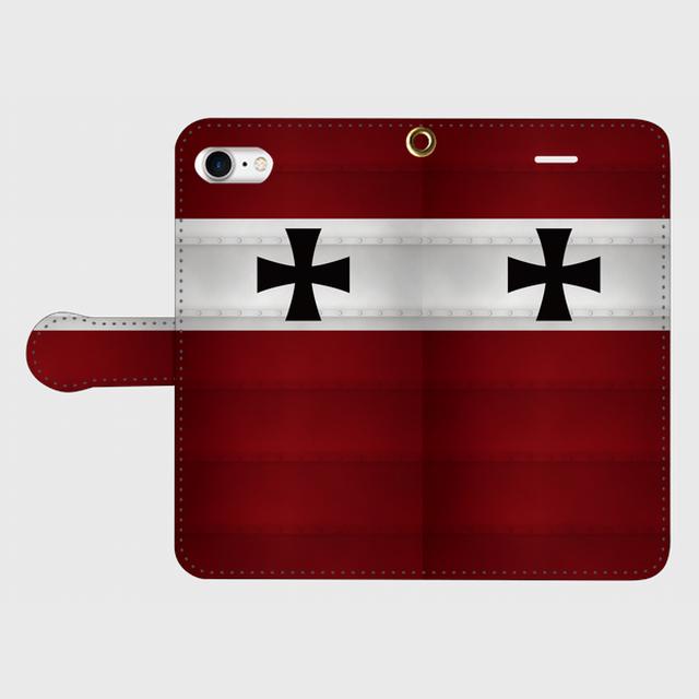 ドイツ軍第505重戦車大隊(ダークイエロー) iPhoneケース