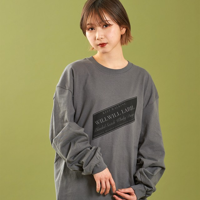 WILLWILL LABEL Long Sleeve Charcoal
