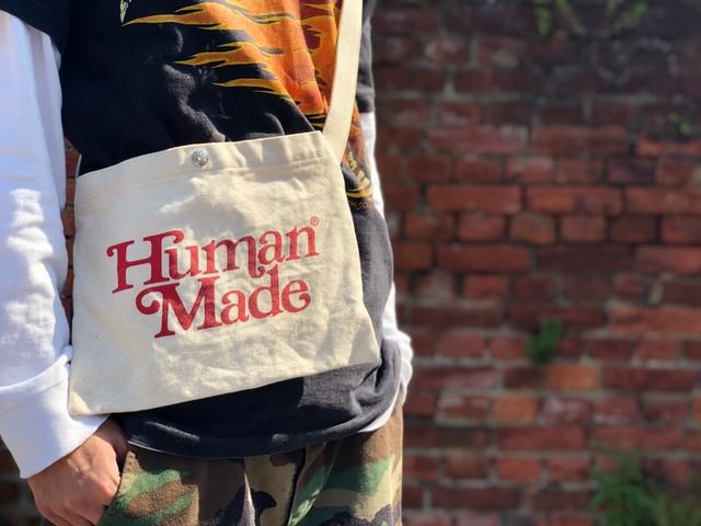 HUMAN MADE ×Girls Don't Cry Sacoche Bag NATURAL 82902
