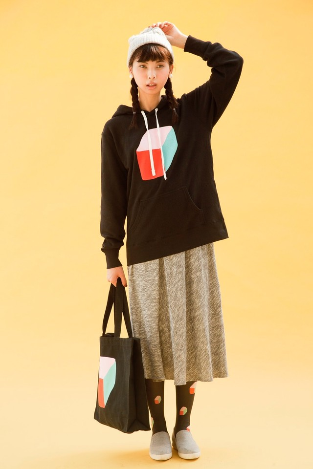 ※sold out ボックストートバッグ(ブラック)