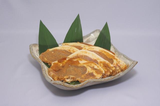 美喜仁特製 自家製から味噌使用「やまと豚の味噌漬けセット」