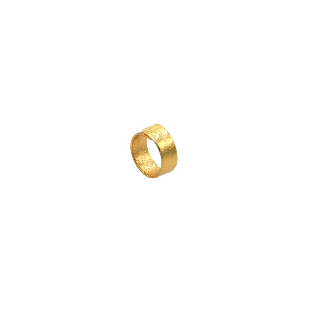 《リング》TIN BREATH Ring 10×80 mm Gold plate