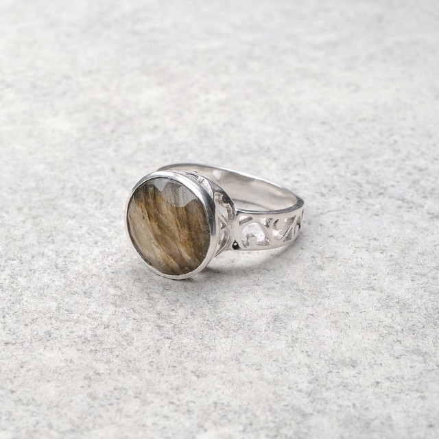 SINGLE STONE NON-ADJUSTABLE RING 069