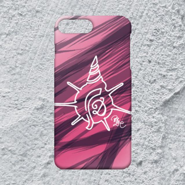 【iPhone8plus/7plus対応】D-Logoホワイトハードケース}