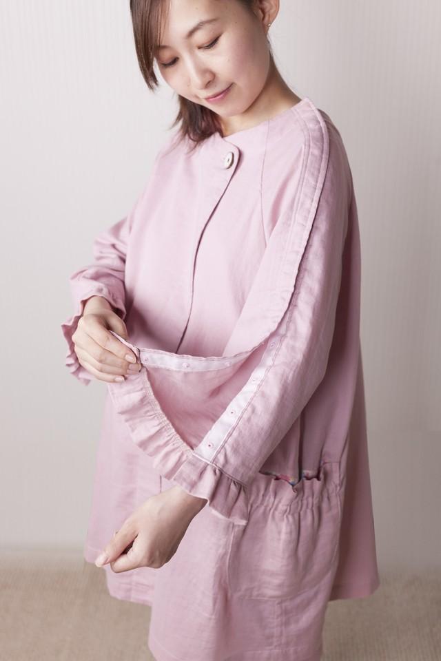 hahagi  肩開きタイプ(出産用スカートセット)