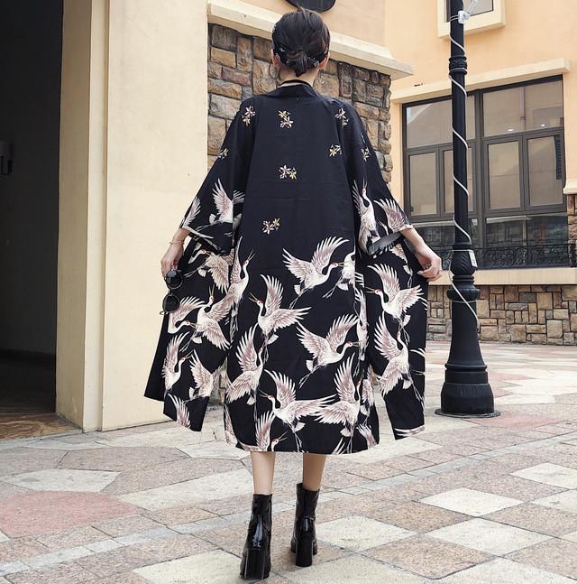 【アウター】七分袖ストリート系ファッションゆったりUVカットカーディガン19741169