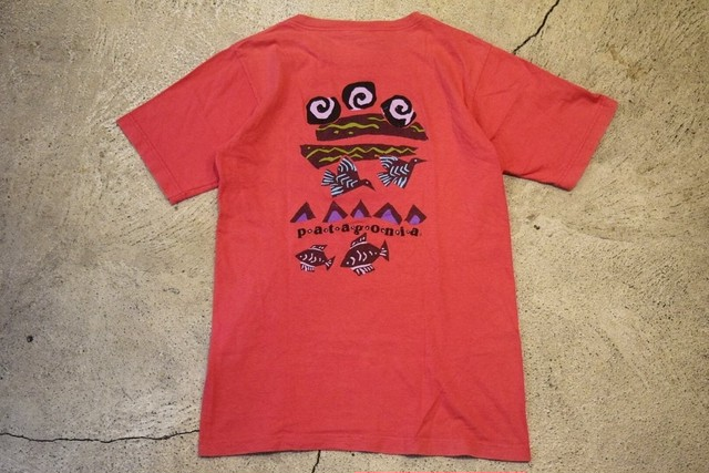 USED patagonia T-shirt 90s made in USA T0289
