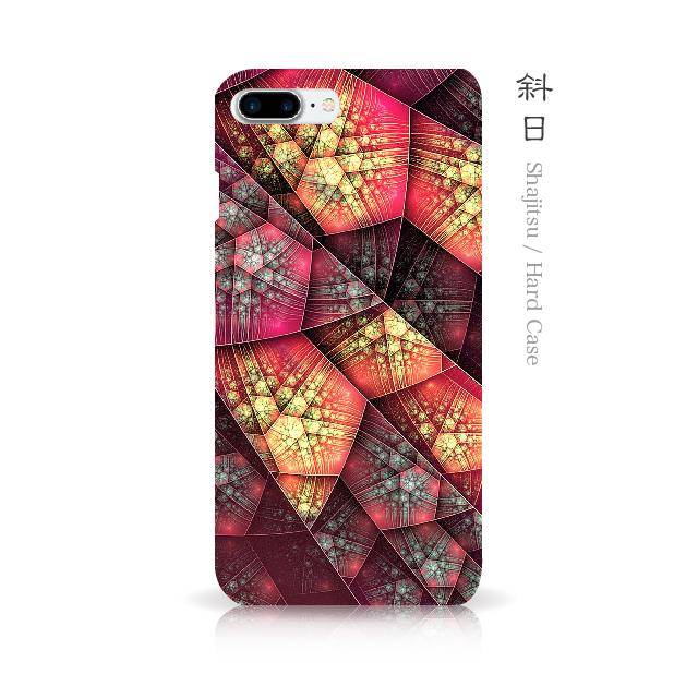 斜日 - 和風 iPhoneケース