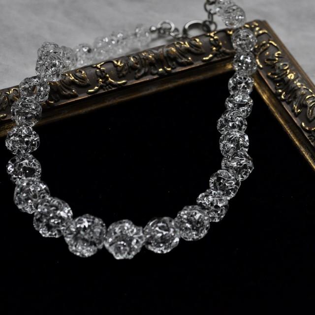 Lima7192 - Sympathy glass ball necklace -