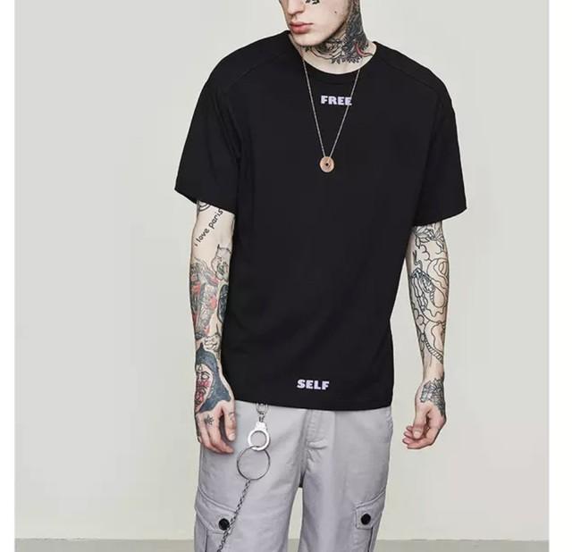 【DOPE】ワイドワンラインデザインビックTシャツ 3カラー