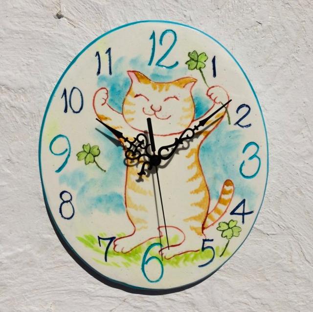 バンザイ元気猫(15cm)