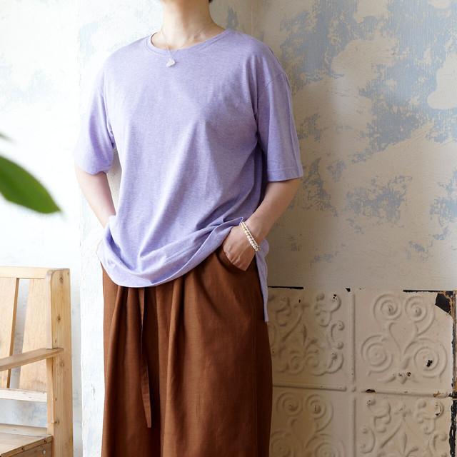 オーガニックコットン・プレーンTシャツ *プラネード