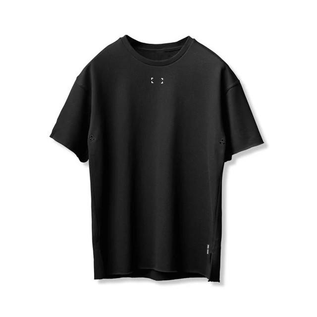 完売御礼【ASRV】リバーシブルべースボールシャツ - Black/White