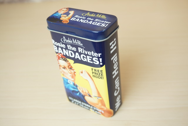 バンドエイド缶(COWGIRL)※新品です!