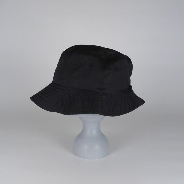 SS21-BD-7 Ramie W-Face Hat - BLK