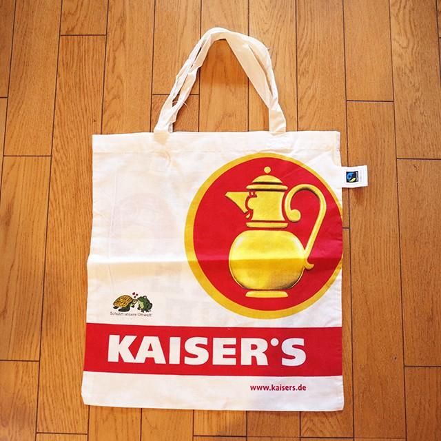 【ドイツ】再入荷! KAISER'S (カイザース) エコバッグ