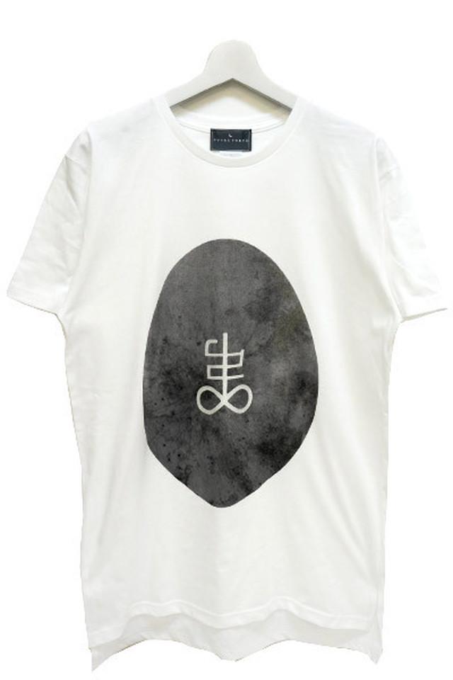 「殻」T-shirts (White)