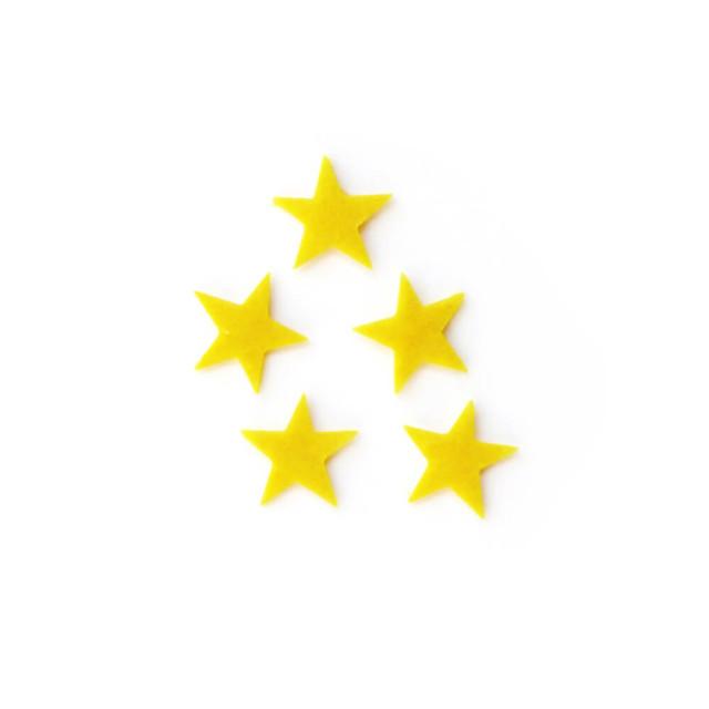 アイロン接着 フェルト アップリケ(星)