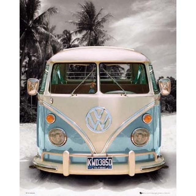 ワーゲンバスポスター CALIFORNIA BUS [WBPSCL01]