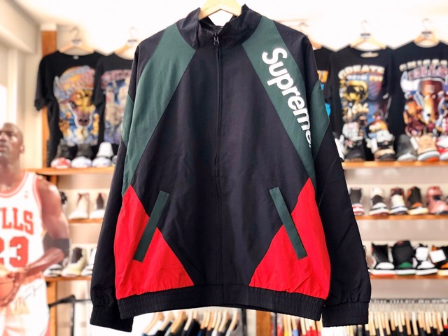 Supreme PANELED TRACK JACKET LARGE 145JE5944
