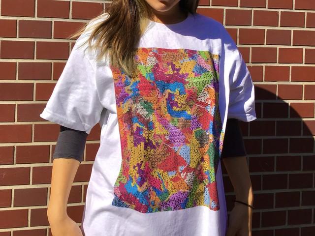 Cross Stitch Tshirt - White