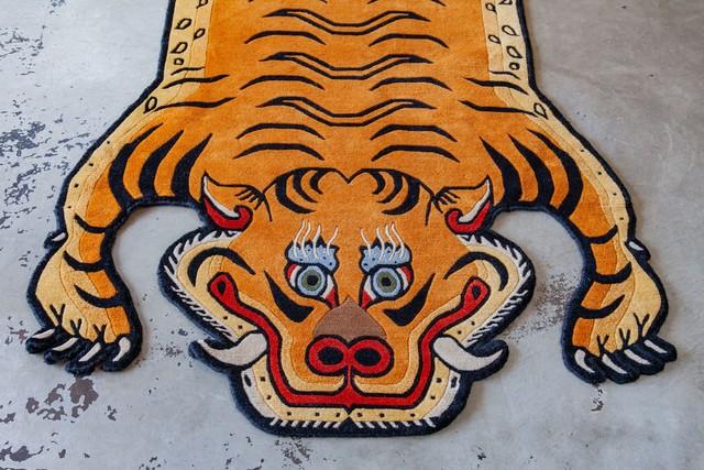 Tibetan Tiger Rug 《Lサイズ•プレミアムウール045》チベタンタイガーラグ