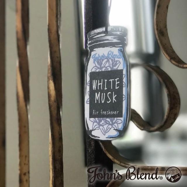 【爽やかな甘さのホワイトムスクの香り】エアーフレッシュナー John's Blend/ジョンズブレンド