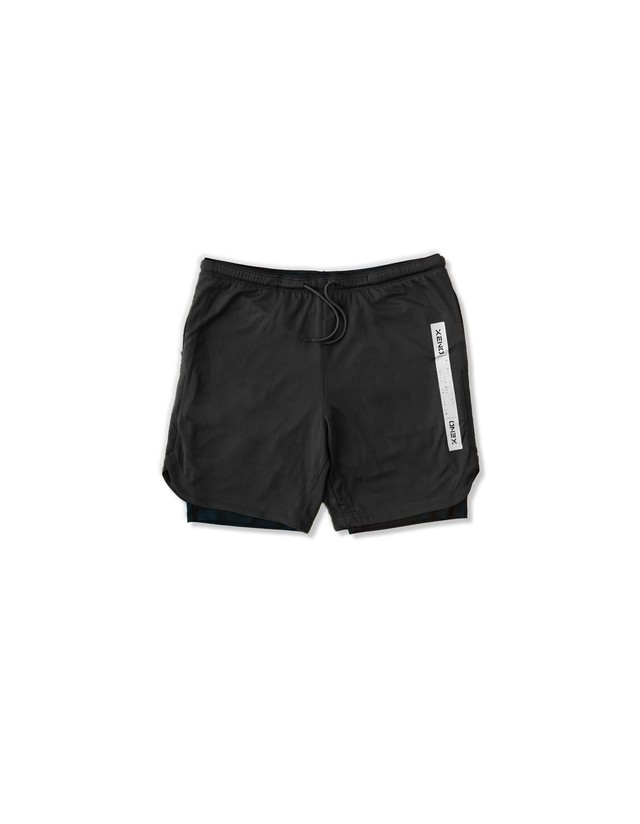 XENO CITY TOUGH LAYERED SHORTS Black