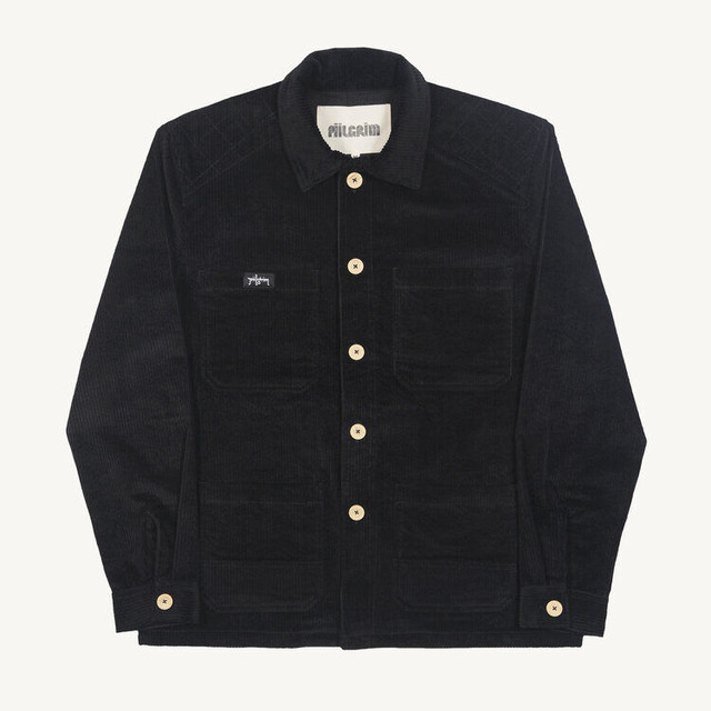 PIILGRIM BREWERS OVERSHIRT BLACK