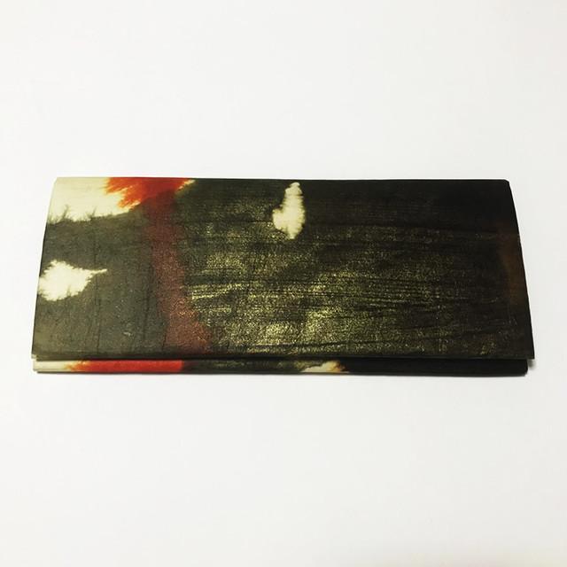 和紙の札入れ(赤丁子)
