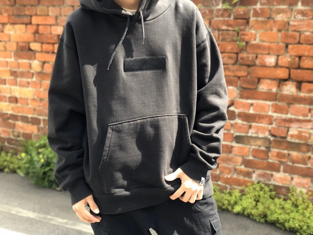 SAPEur UNFIGURED BOX HOODIE BLACK X-LARGE 50JA3628