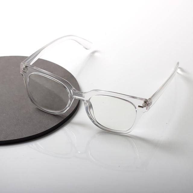 マスクでもOK!【曇らない特殊加工】UV&ブルーライト軽減クリアだてメガネ