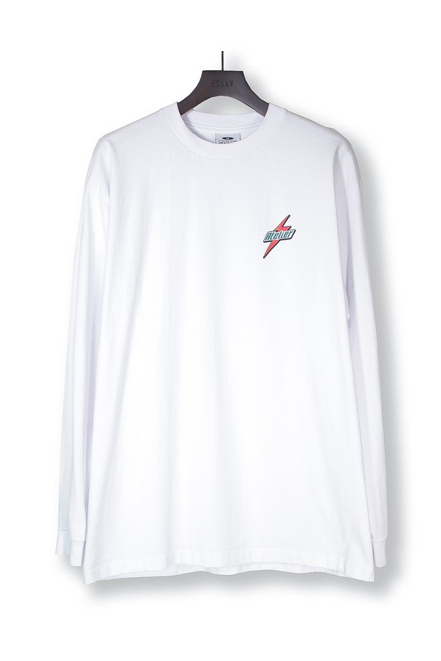 ESSAY  / STREET LONG TEE (WHITE)