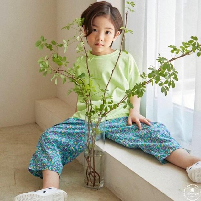 «予約» HAI flower pants 2colors フラワーパンツ