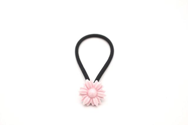 有田焼 ヘアゴム  daisy ピンク(金彩なし)
